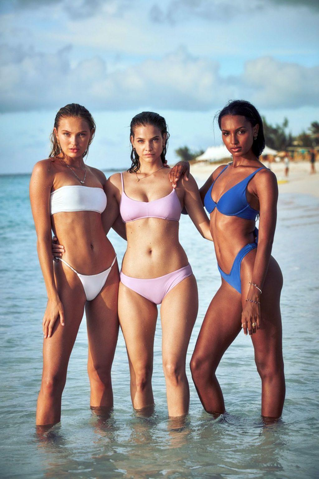 Jasmine Tookes, Barbara Palvin, Romee Strijd Sexy (10 Photos)