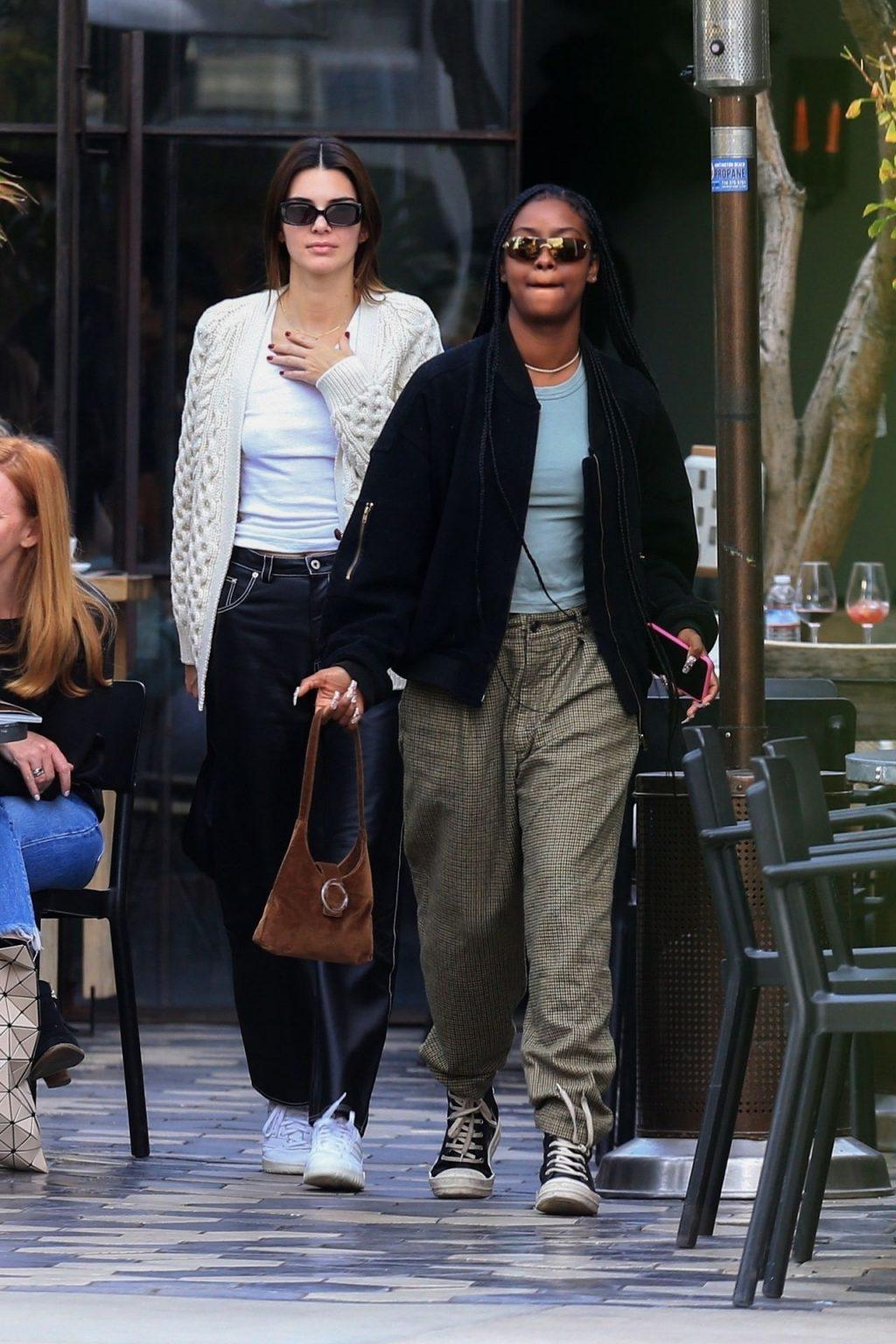 Kendall Jenner Braless (17 Photos)