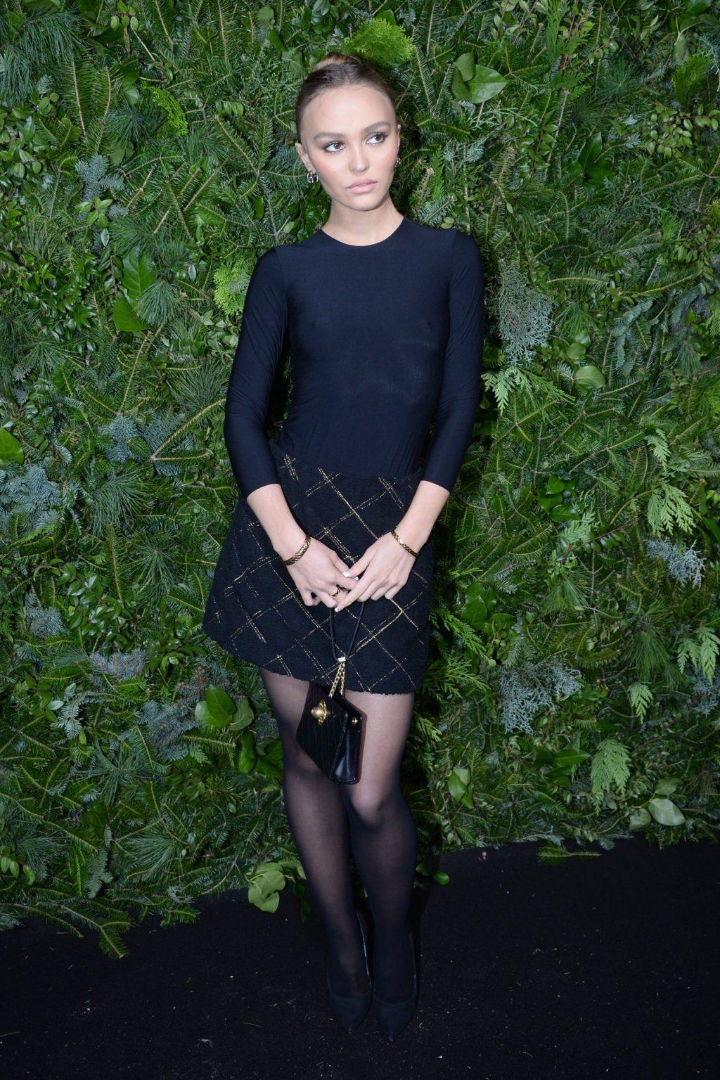 Lily-Rose Depp Braless (68 Photos)