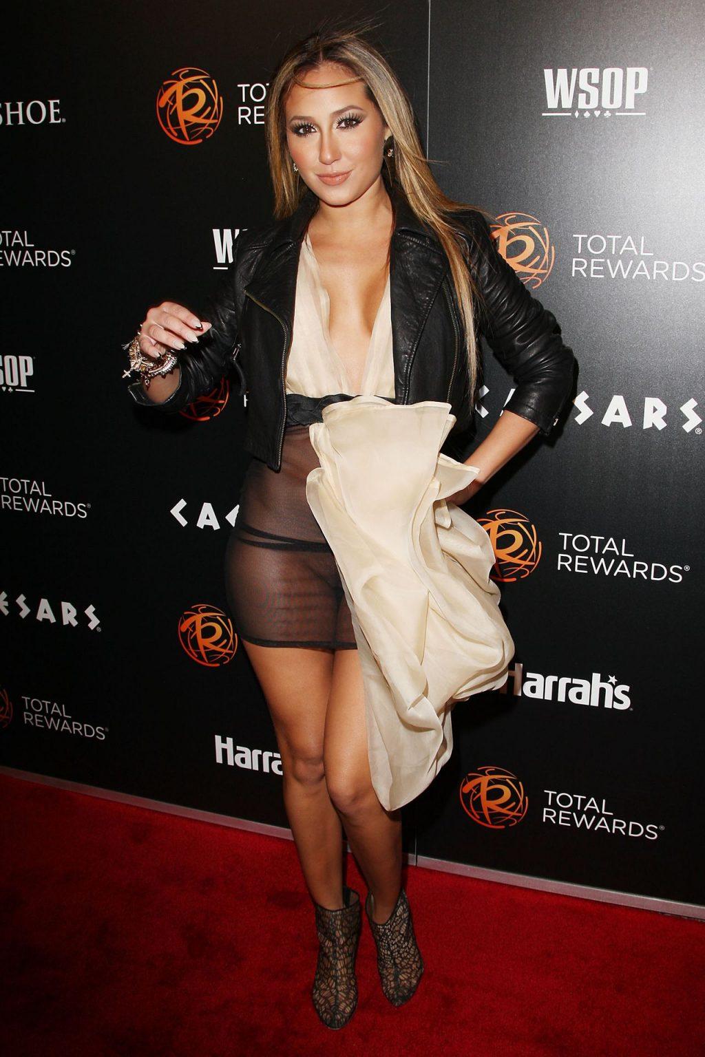 Adrienne Bailon's Nude Pussy (9 Photos)