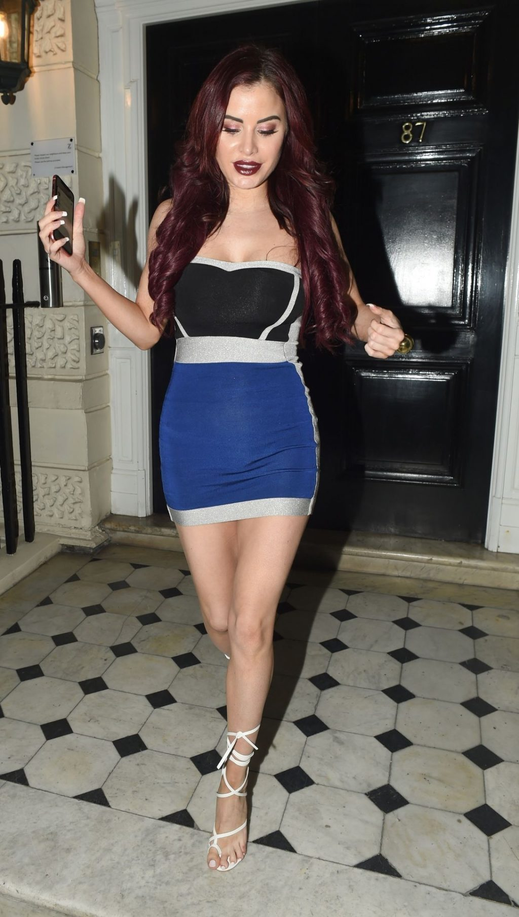 Carla Howe Getting Cheeky On a Cold Night Out in London (47 Photos)