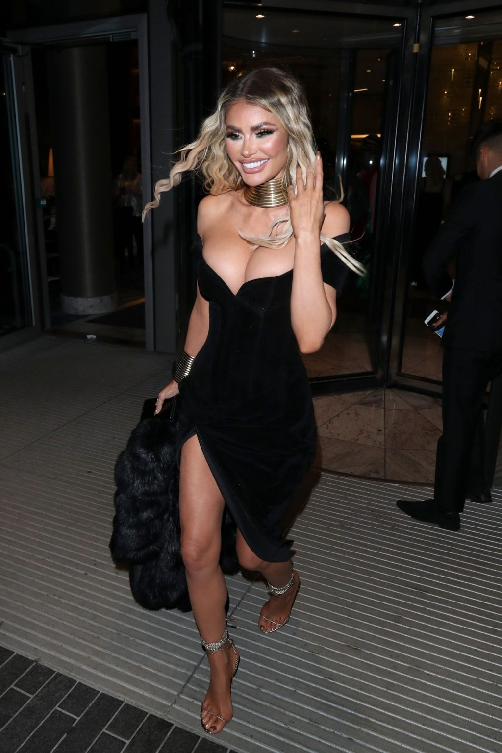 Chloe Sims Shows Off Her Boobs at the NTA Afterparty in London (16 Photos + Video)