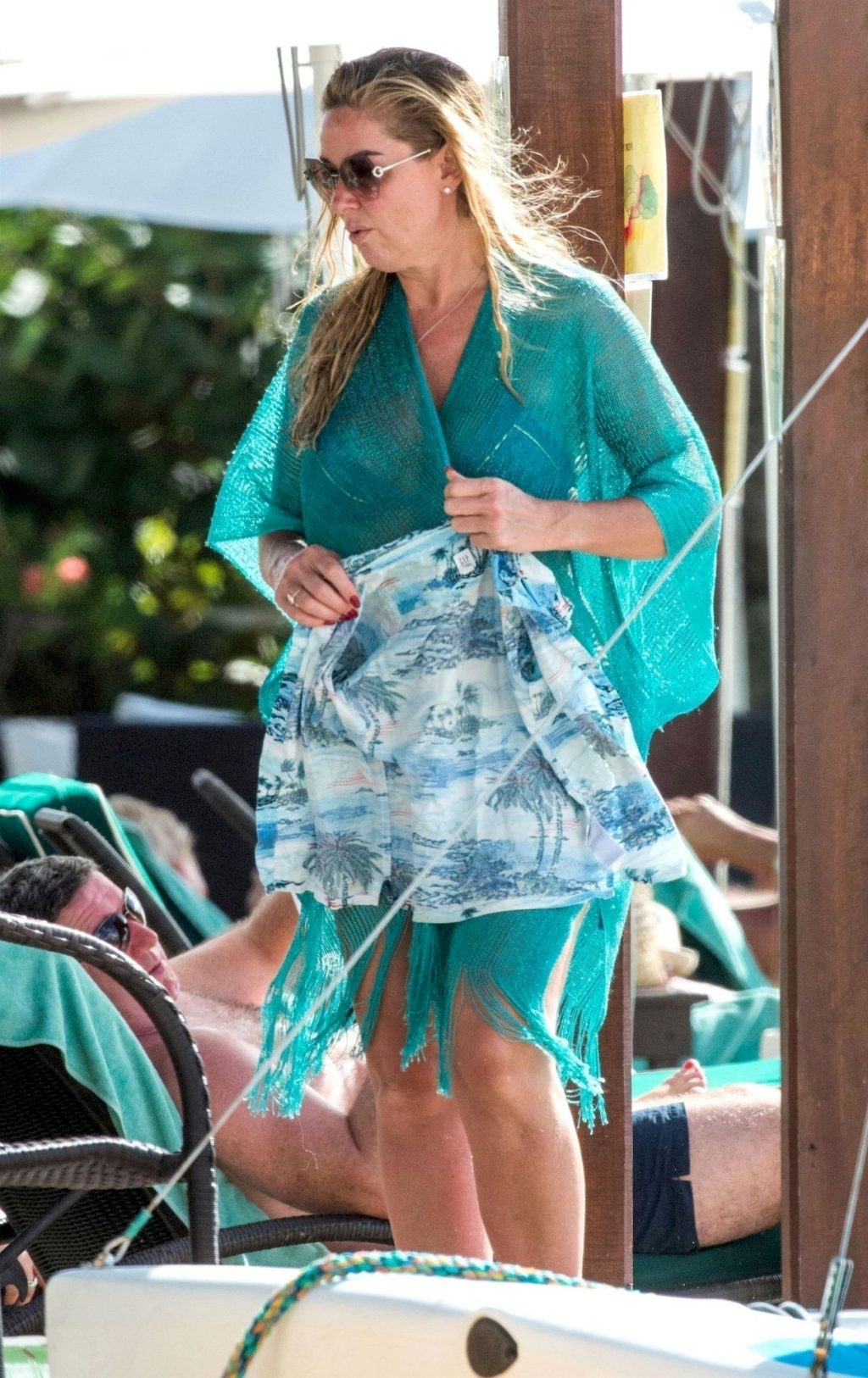 Claire Sweeney Dons her Bikini Out in Barbados (18 Photos)