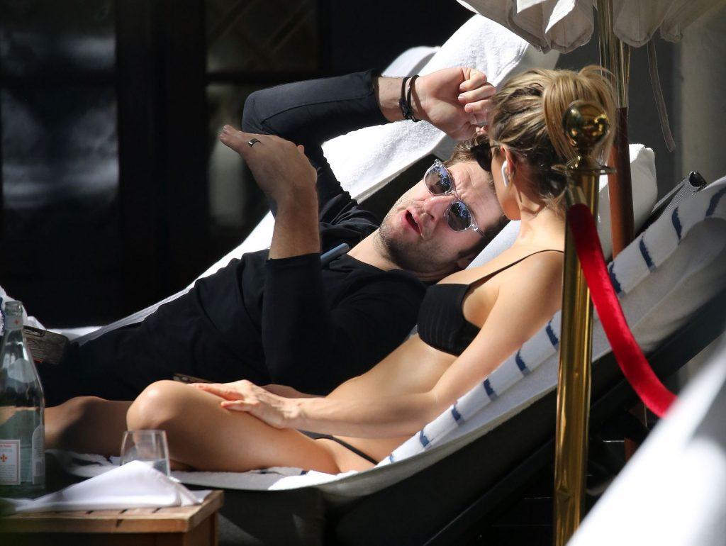 Kristin Cavallari Wears a Black Bikini in Miami (21 Photos)
