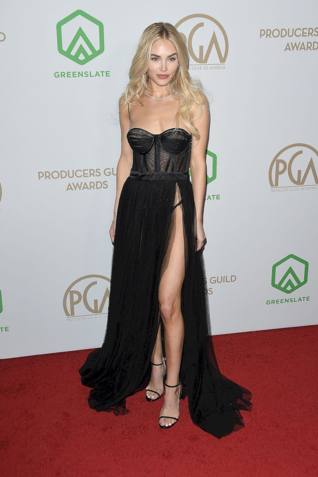 Michelle Randolph Shows Off Her Sexy Legs at the Annual Producers Guild Awards (21 Photos)