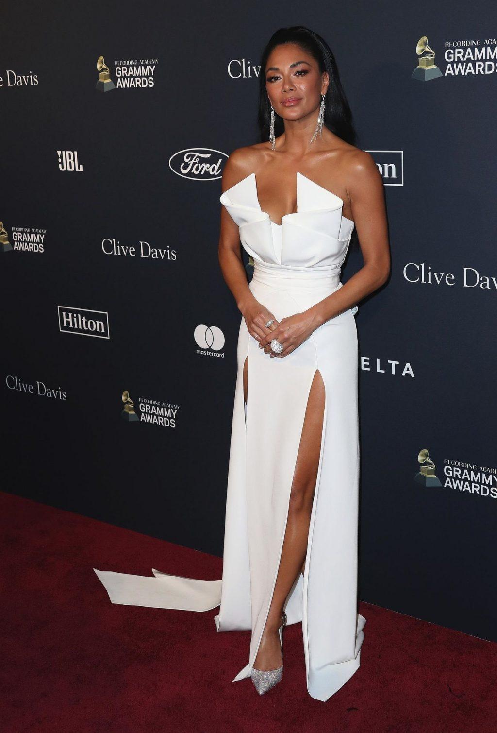 Nicole Scherzinger Stuns at the Clive Davis' 2020 Pre-Grammy Gala (37 Photos)