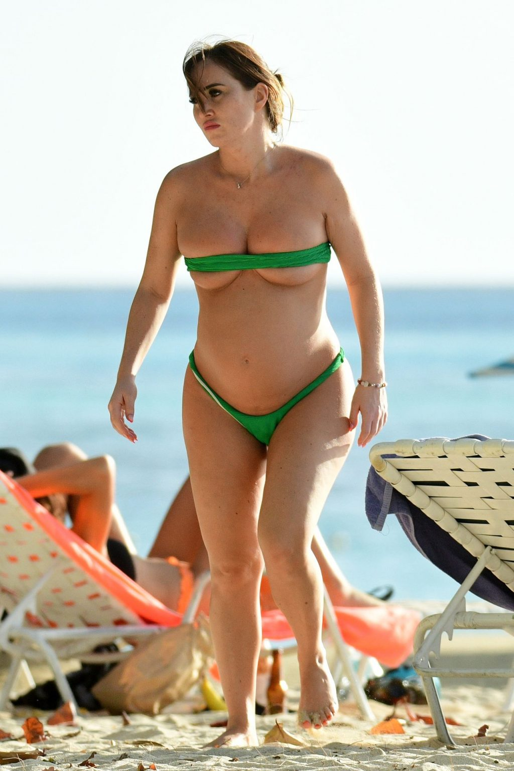 Pregnant Lauryn Goodman and Melissa Reeves Pictured in Barbados (36 Photos)