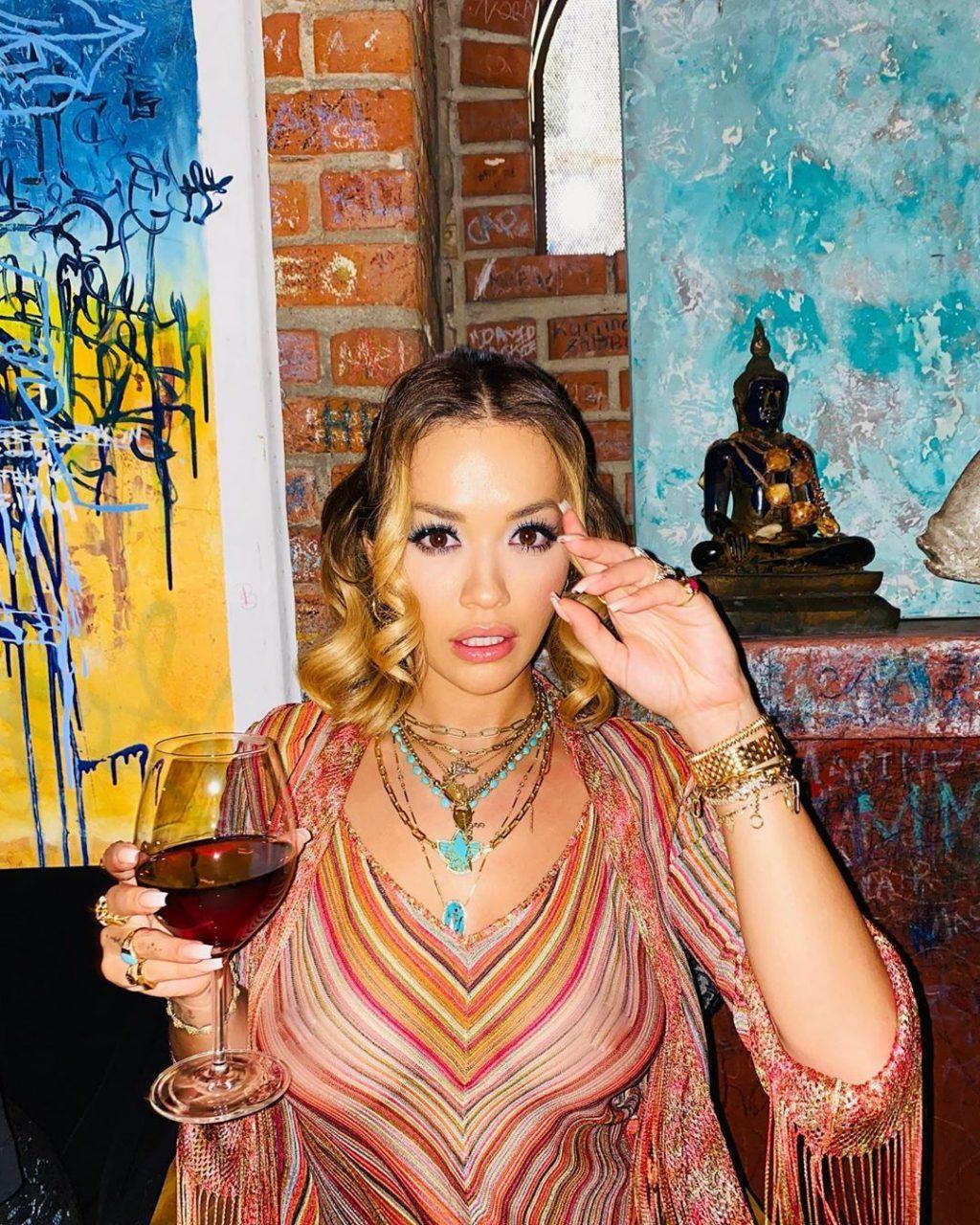 Rita Ora See Through (2 Hot Pics)