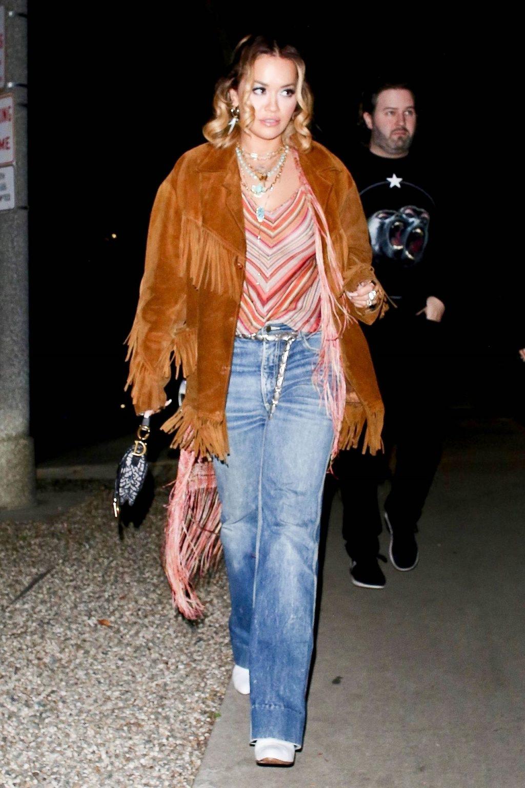 Braless Rita Ora Steps Out with Friends in Los Feliz (11 Photos)