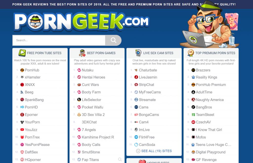 Best porn sites list 2020