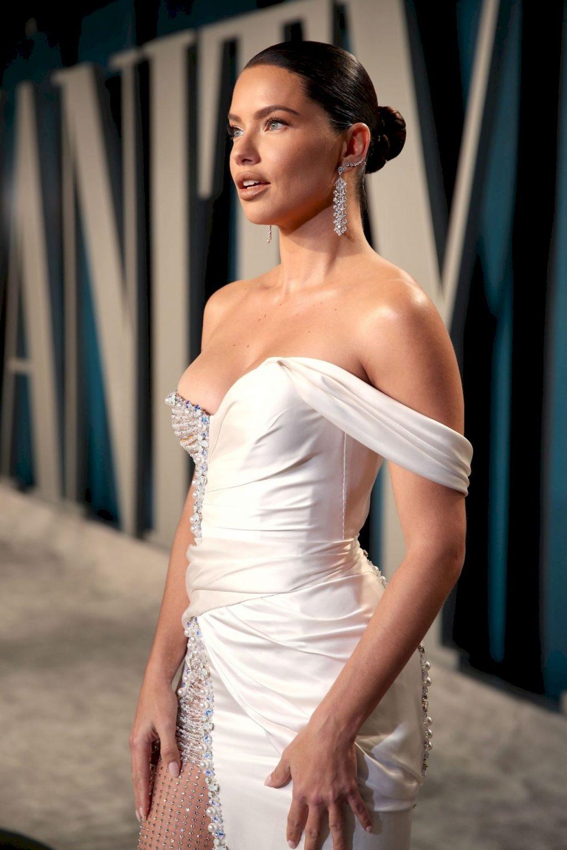 Adriana Lima Flaunts Her Famous Figure at the 2020 Vanity Fair Oscar Party (90 Photos)