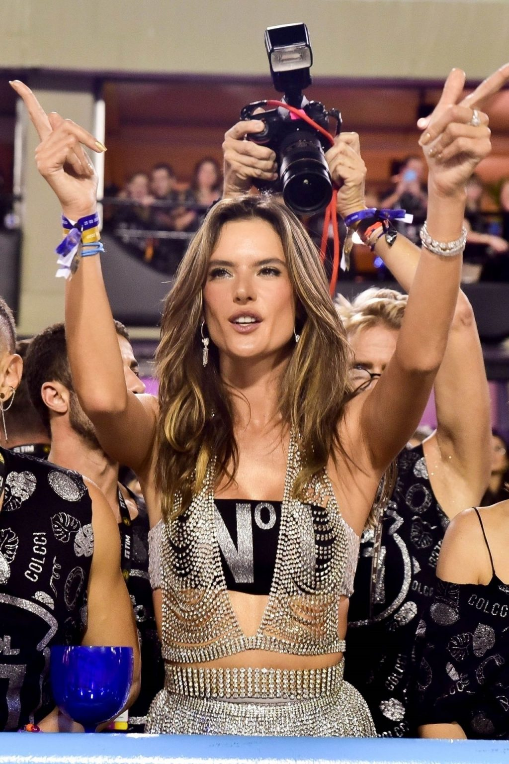 Alessandra Ambrosio Enjoys Rio Carnival With Her Friends (51 Photos)