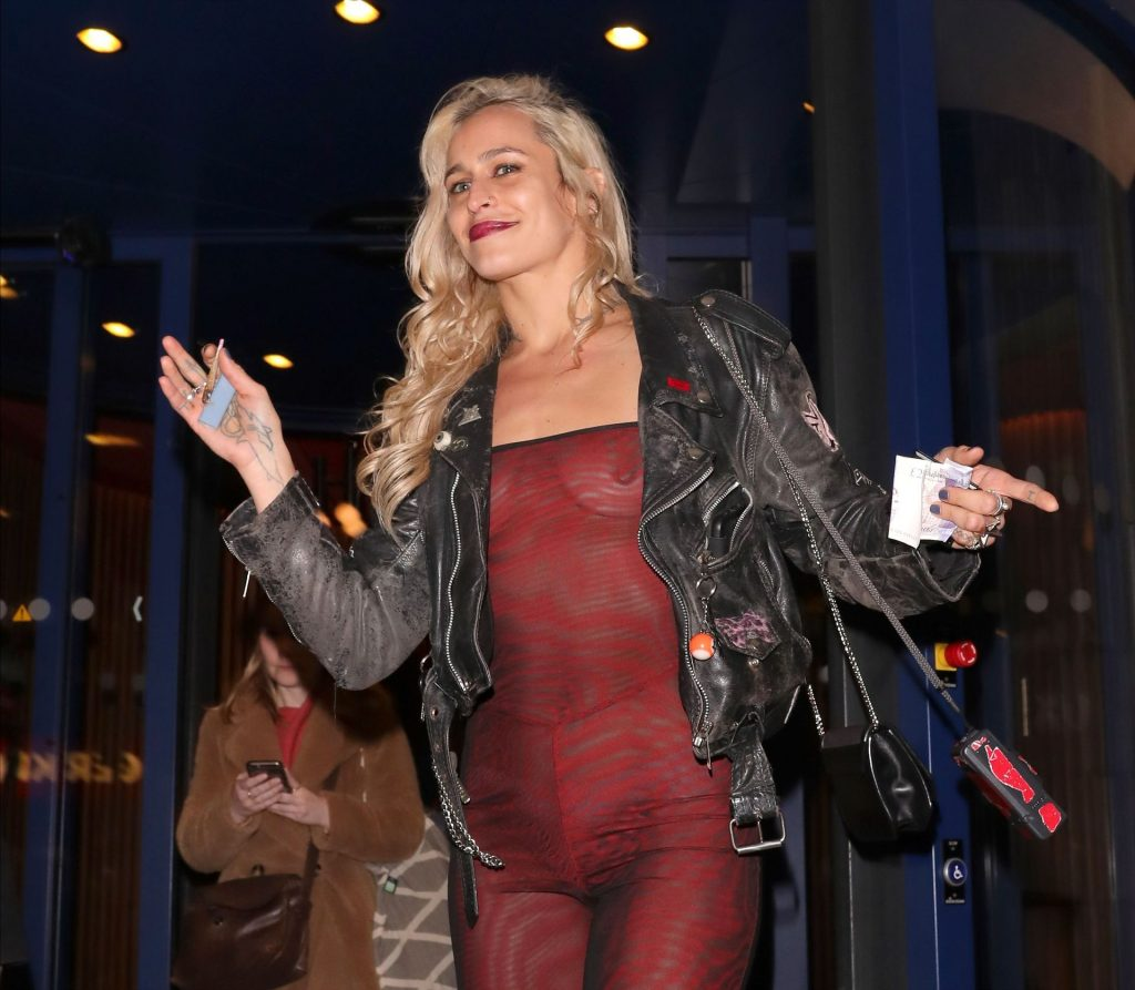 Alice Dellal See Through The Fappening Blog 10 1024x893 - Alice Dellal Shows Her Tits at the NME Awards After Party (25 Photos)