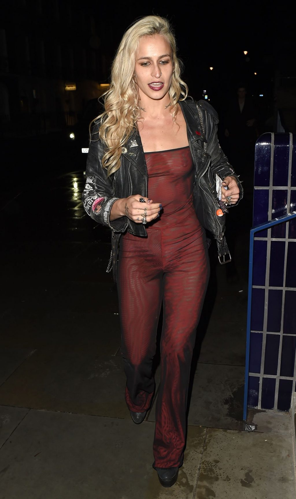 Alice Dellal See Through The Fappening Blog 16 1024x1726 - Alice Dellal Shows Her Tits at the NME Awards After Party (25 Photos)