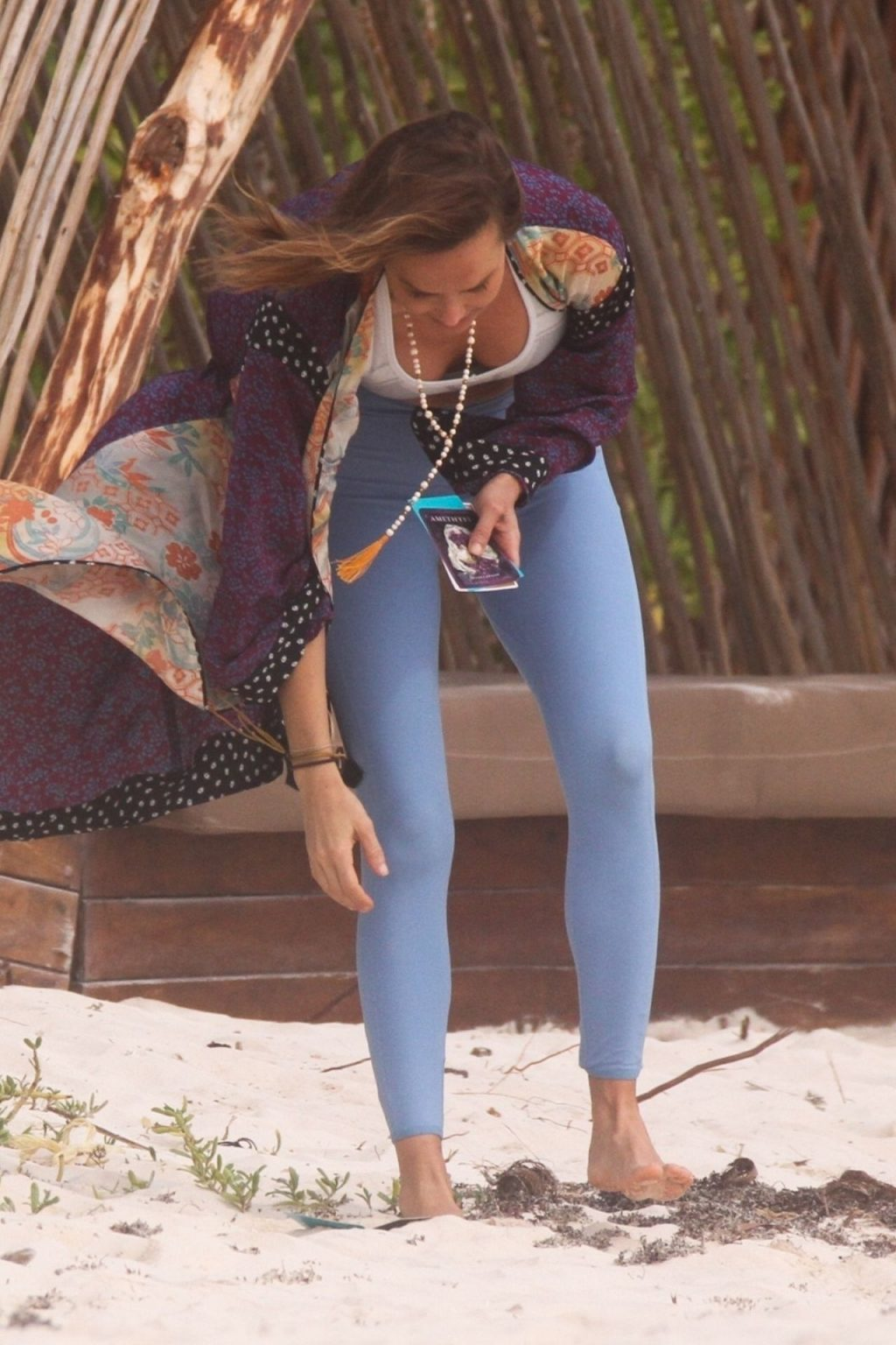 Arielle Kebbel Spends a Day at the Beach with a Clairvoyant (41 Photos)