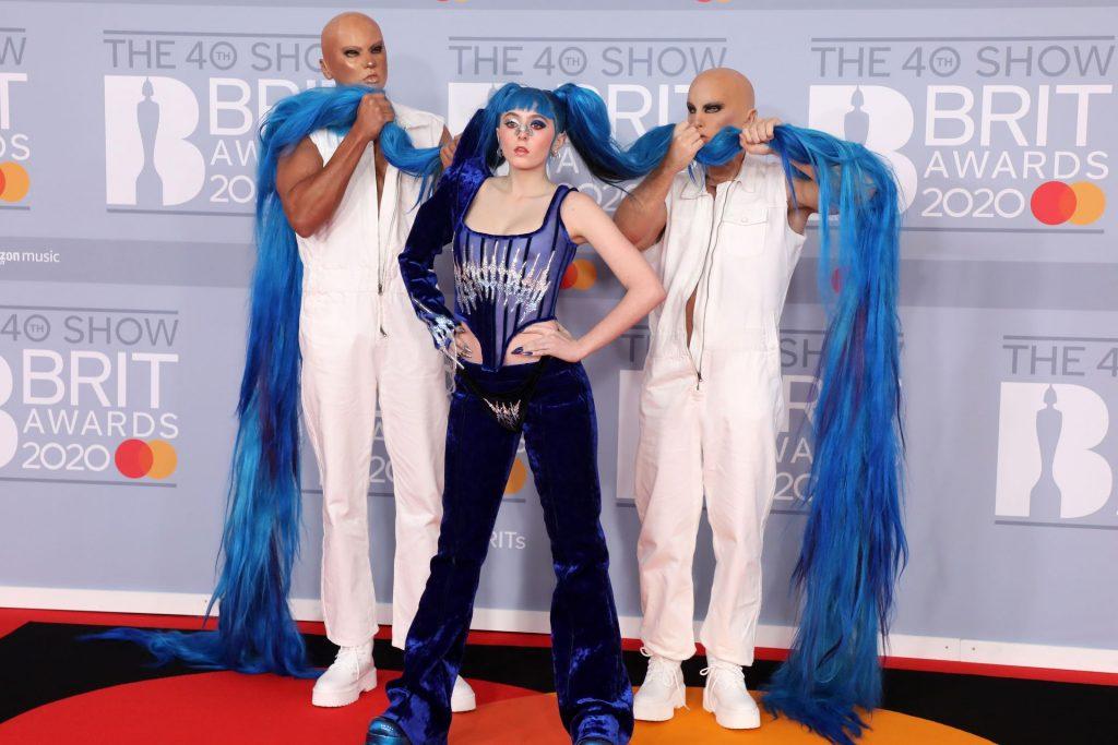 Ashnikko Shows Her Tits at The 2020 Brit Awards (43 Photos)