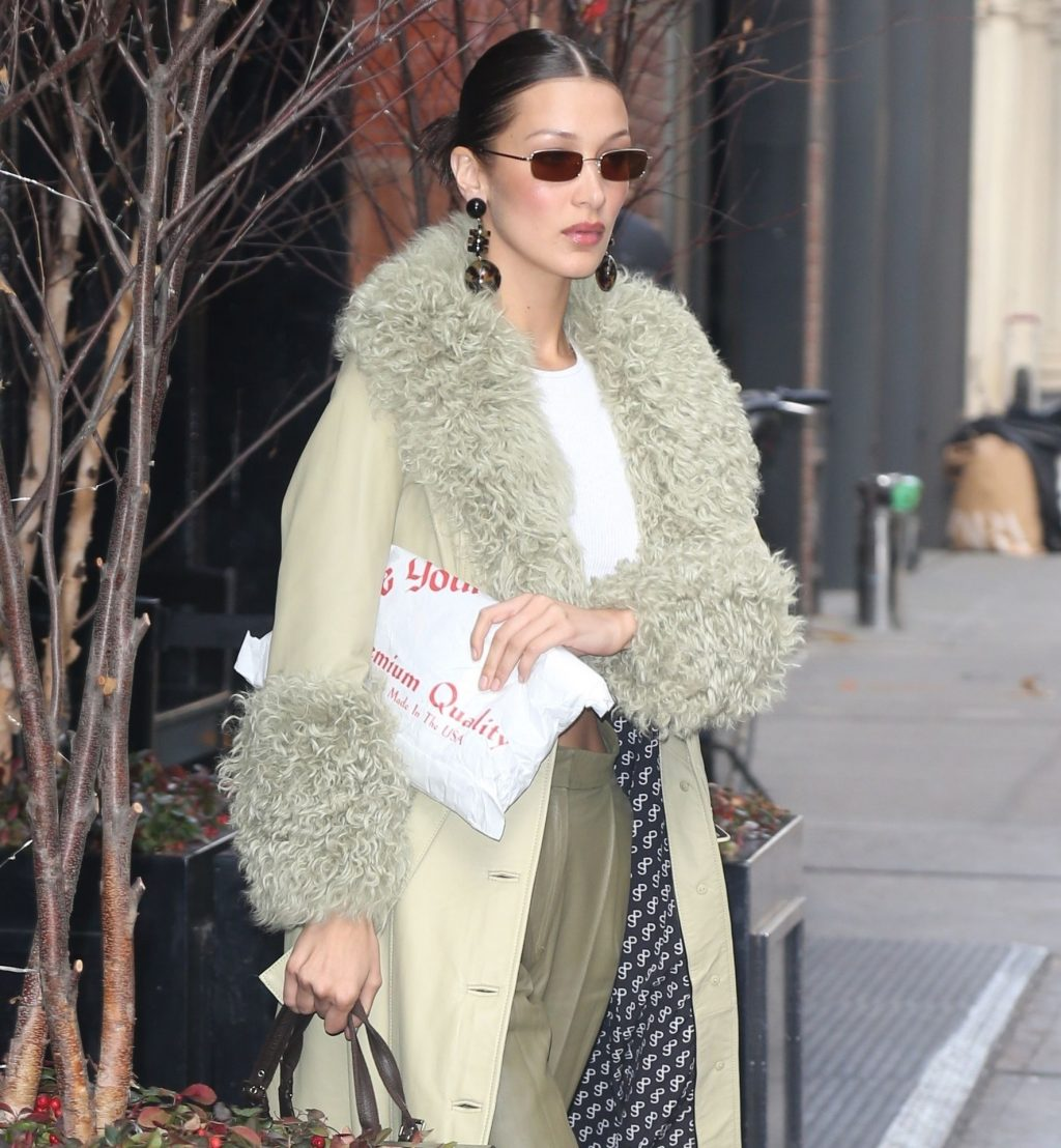 Bella Hadid See through The Fappening Blog 47 1024x1108 - Braless Bella Hadid Arrives at the Park Avenue Armory for the Marc Jacobs Fashion Show (59 Photos)