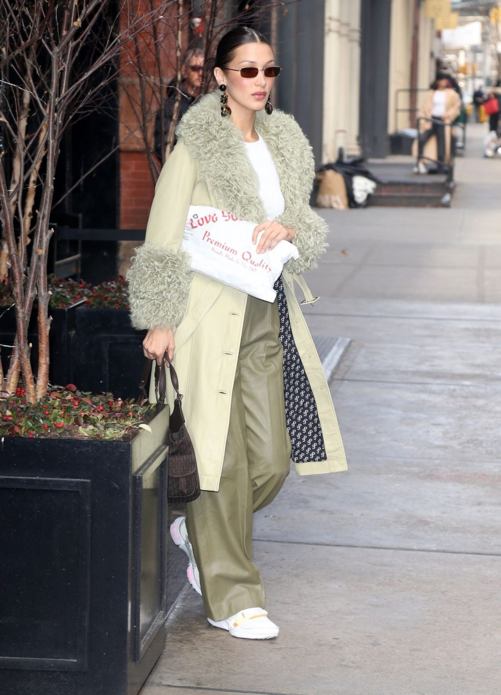 Bella Hadid See through The Fappening Blog 48 1024x1420 - Braless Bella Hadid Arrives at the Park Avenue Armory for the Marc Jacobs Fashion Show (59 Photos)