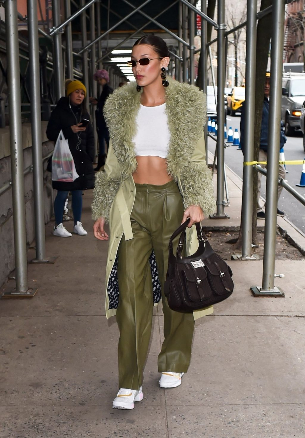 Bella Hadid See through The Fappening Blog 6 1 1024x1468 - Braless Bella Hadid Arrives at the Park Avenue Armory for the Marc Jacobs Fashion Show (59 Photos)