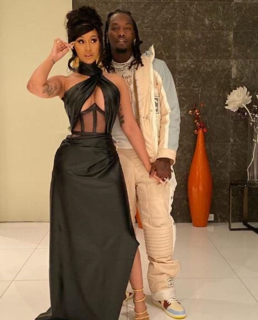 Offset and Cardi B Blow $100K in Ones at a Strip Club in Los Angeles (18 Photos)