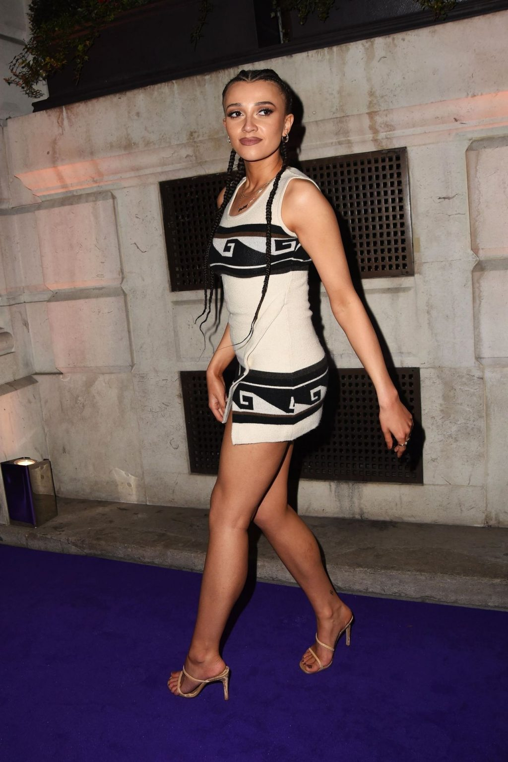 Daisy Maskell Displays Her Legs and Underwear at the Brits Universal After Party (20 Photos)