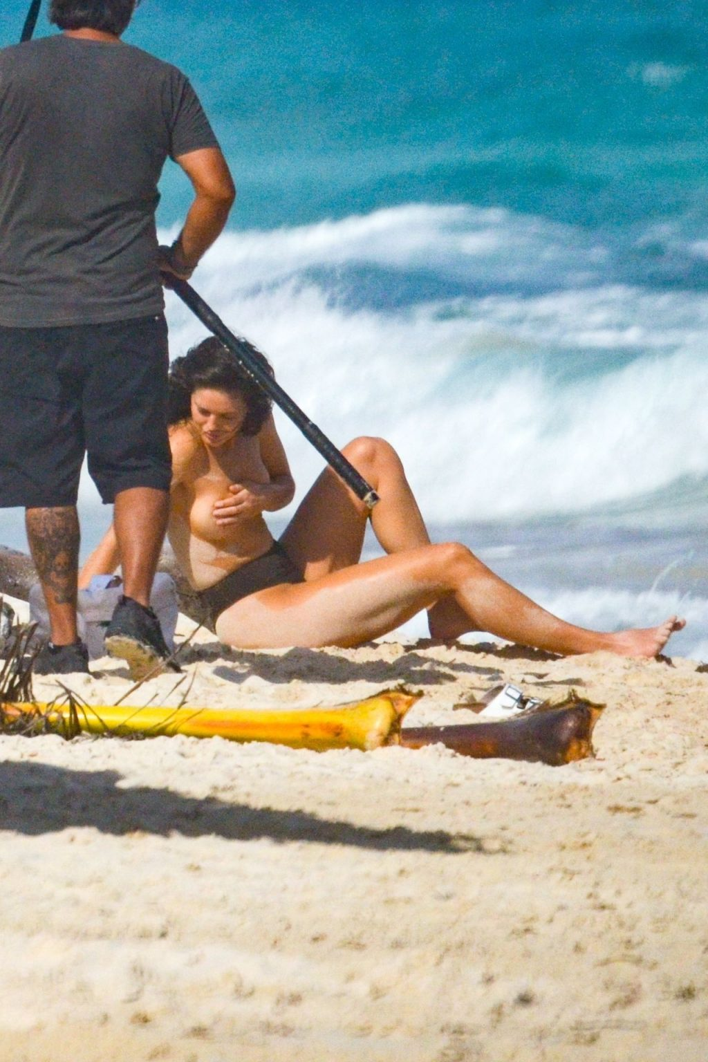 Emily DiDonato Sexy Topless The Fappening Blog 4 1024x1536 - Emily DiDonato Goes Topless for a Beachside Shoot in Tulum (55 Photos)
