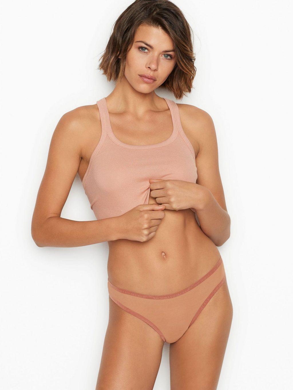 Georgia Fowler Looks Hot in a New VS Photoshoot (12 Photos)