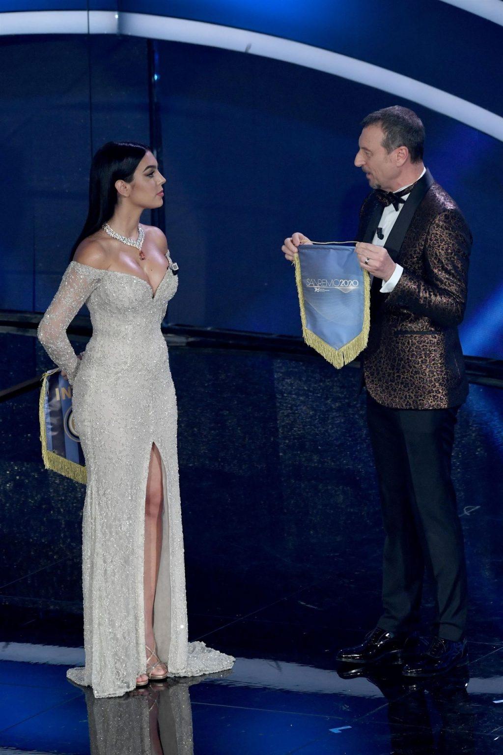 Georgina Rodríguez Shines at the 70th Sanremo Music Festival (146 Photos)