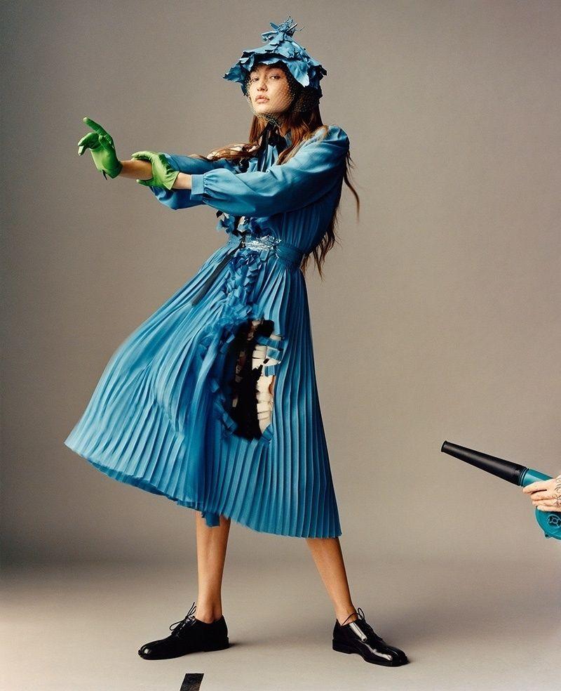Gigi Hadid Poses for i-D Magazine (9 Photos)