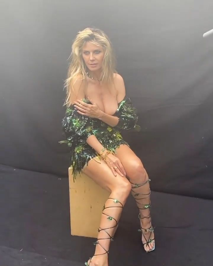 heidi klum nackt sex gif