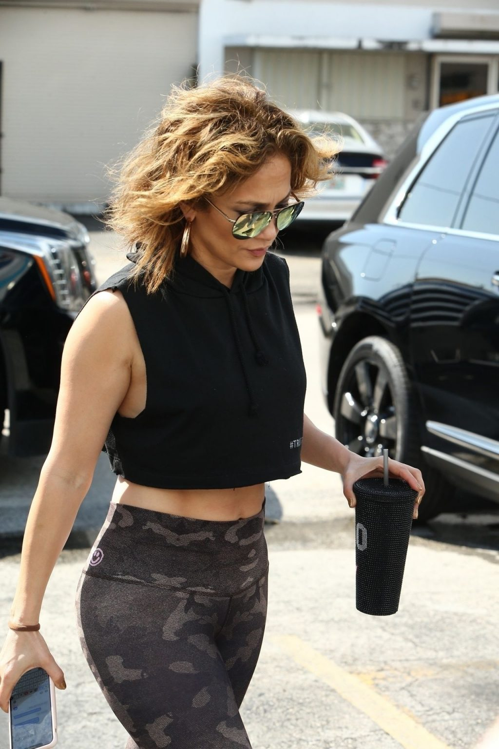 Jennifer Lopez Sexy The Fappening Blog 27 1024x1536 - Jennifer Lopez Shows That Rock Hard Abs Don't Just Happen as She Dutifully Hits the Gym in Miami (48 Photos)