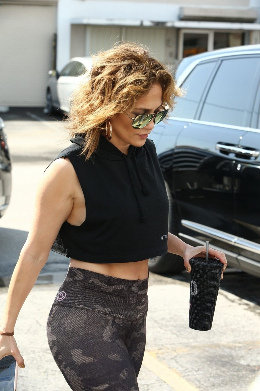 Jennifer Lopez Sexy The Fappening Blog 28 1024x1536 - Jennifer Lopez Shows That Rock Hard Abs Don't Just Happen as She Dutifully Hits the Gym in Miami (48 Photos)