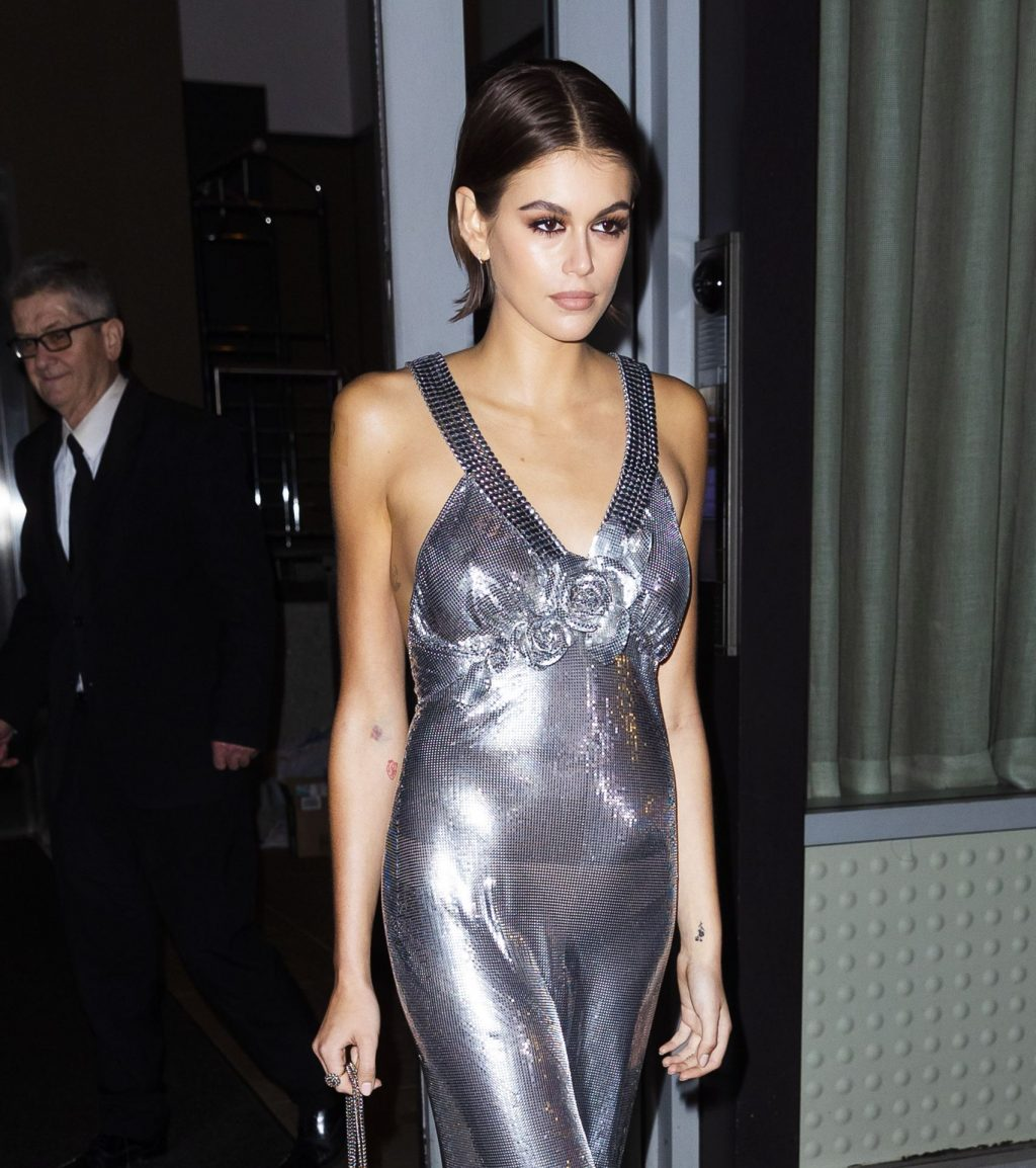 Braless Kaia Gerber is Seen Leaving Her Apartment In New York (45 Photos)