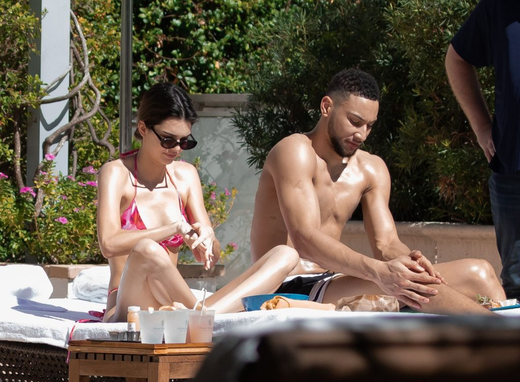 Hot Couple Kendall Jenner & Ben Simmons Relax During Pool Time In Miami (14 Photos)