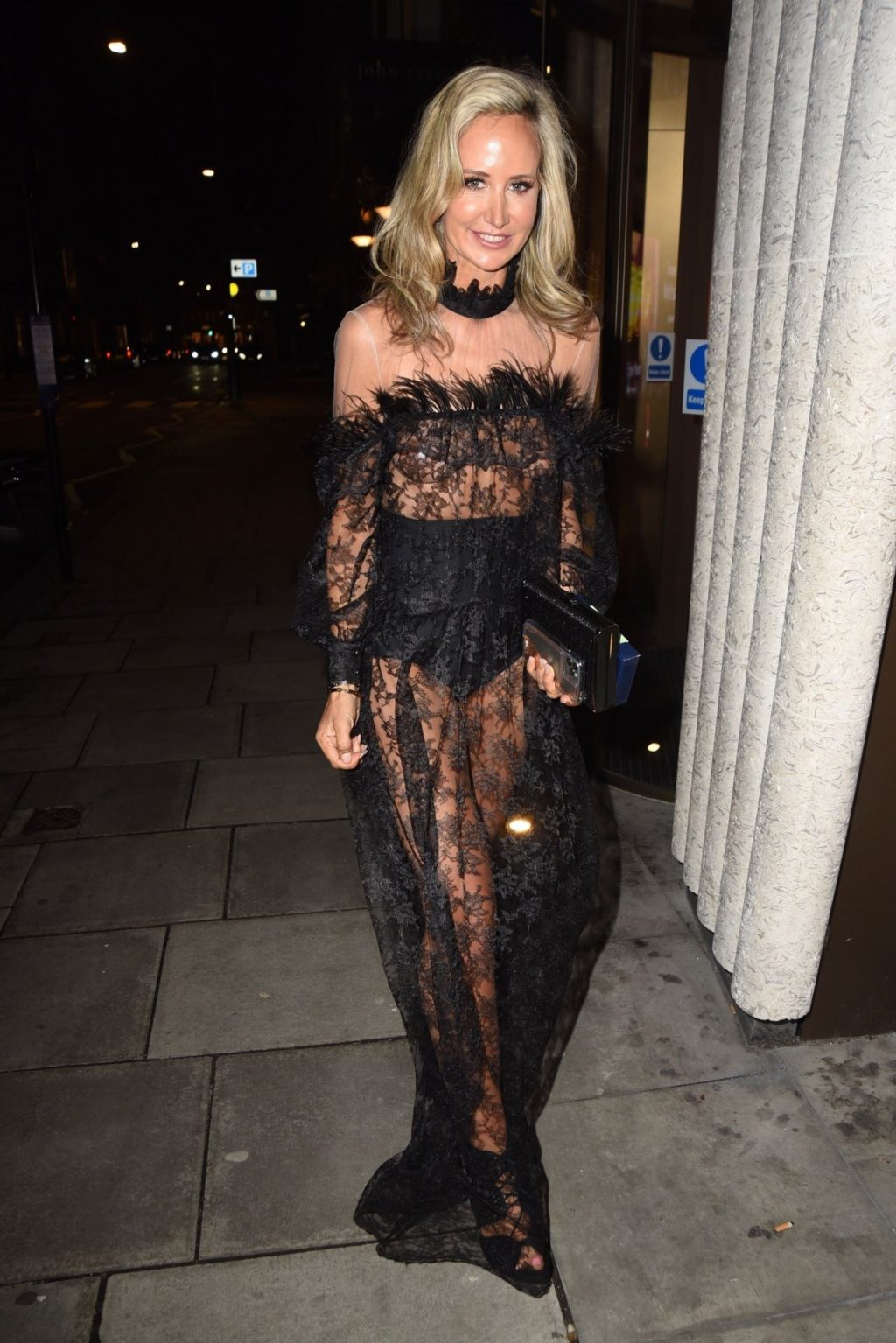 Lady Victoria Hervey Pictured Arriving at the Launch of Her New Brand Hervey Henshall (33 Photos)