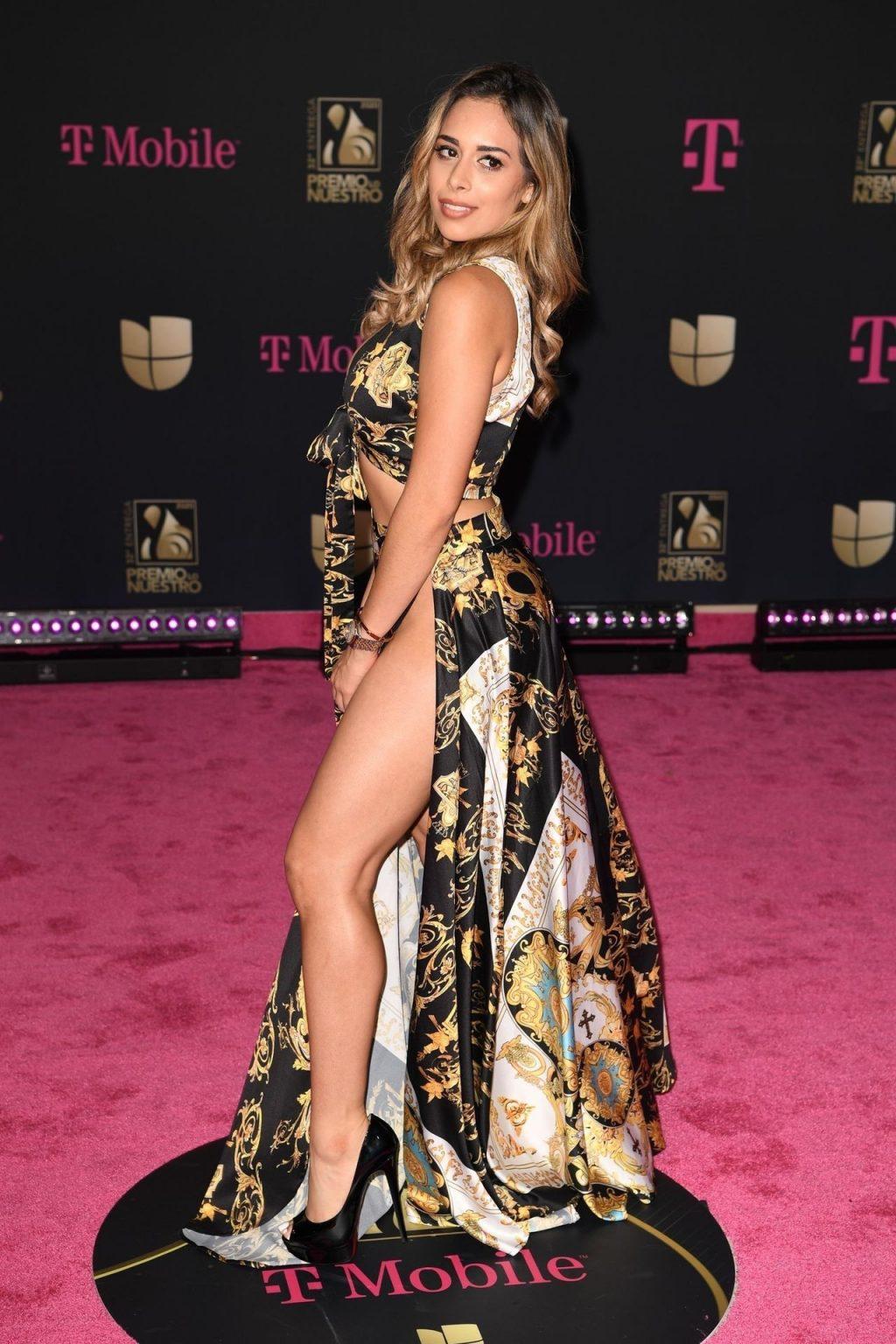 Leli Hernandez Stuns at the 32nd Annual Premio Lo Nuestro Awards (11 Photos)