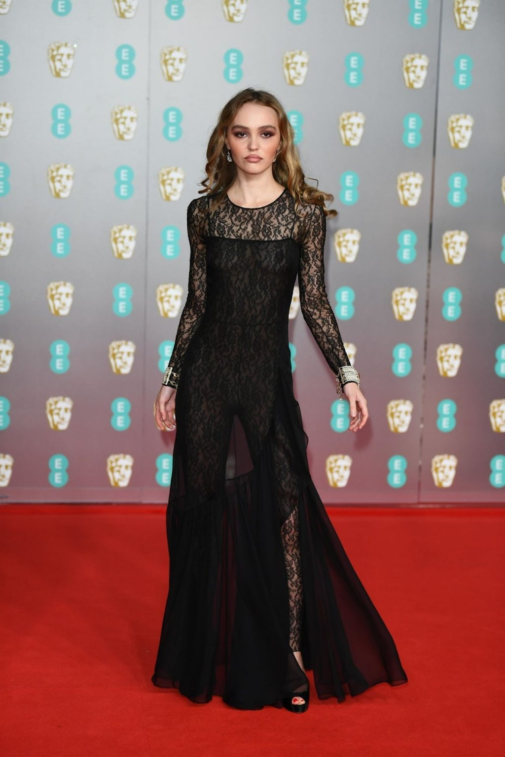 Braless Lily-Rose Depp Attends the 73rd BAFTAs After Party (82 Photos)