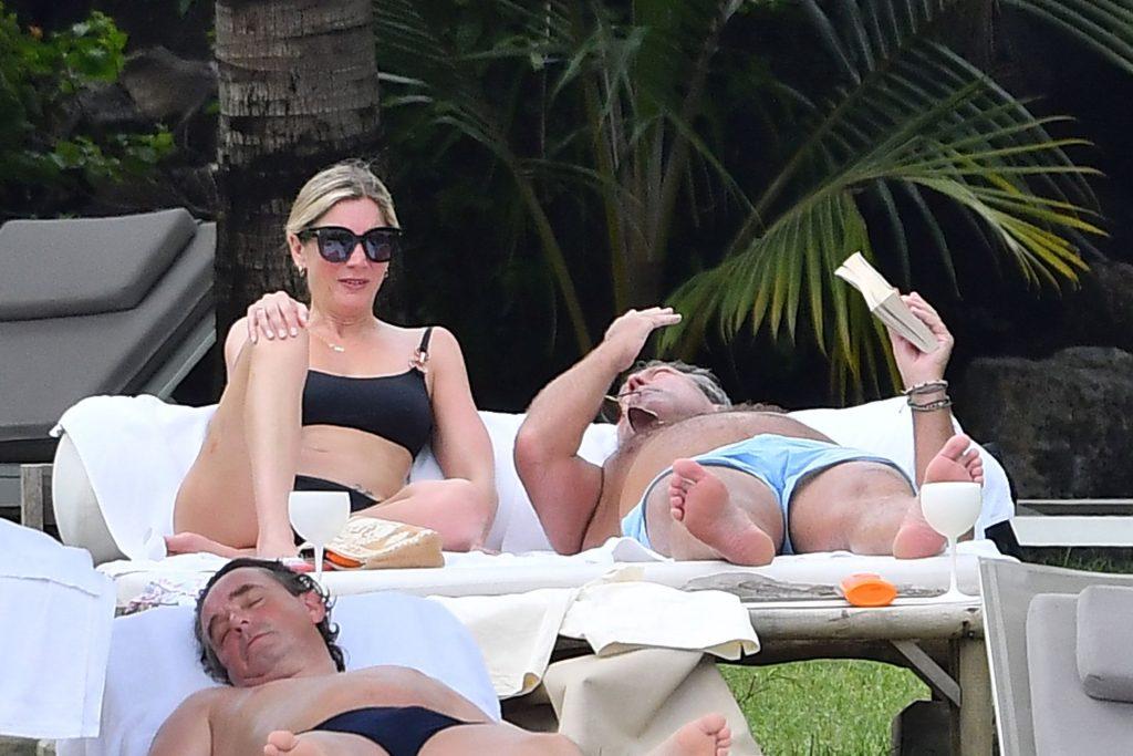 Lisa Faulkner & John Torode Seen Enjoying Their Honeymoon in Mauritius (42 Photos)