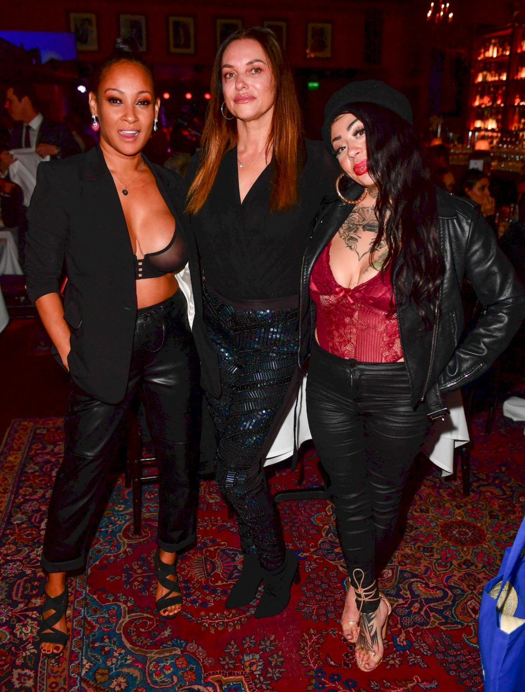 Lisa Maffia Shows Her Tits at the Boisdale 2019 Music Awards (5 Photos)
