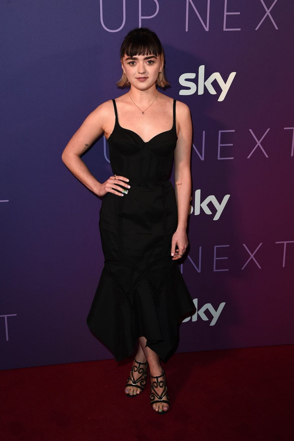 Maisie Williams Pictured Attending the Sky Up Next Event (17 Photos)