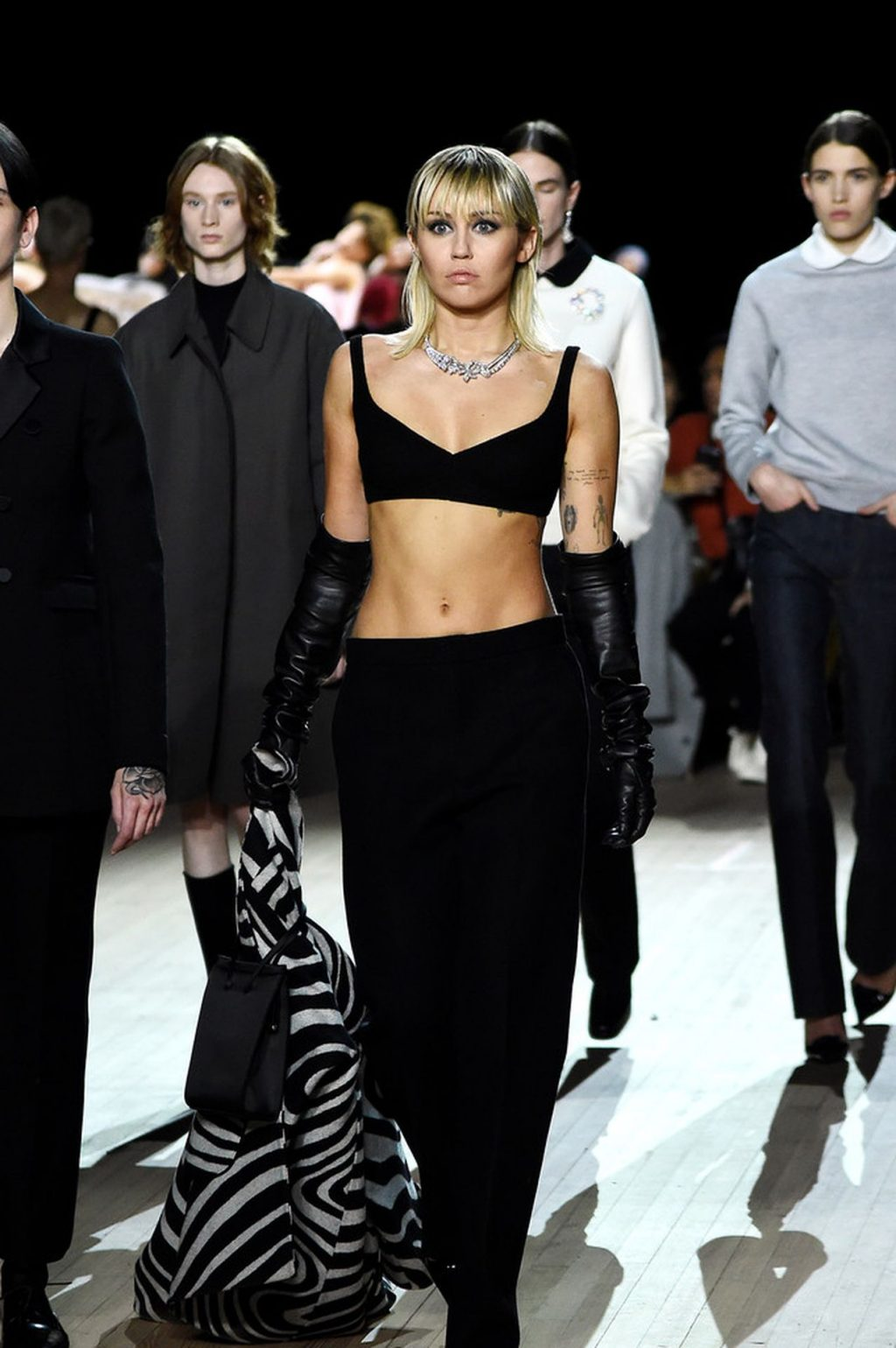 Miley Cyrus Sexy The Fappening Blog 6 4 1024x1540 - Miley Cyrus Walks the Runway at the Marc Jacobs Show (22 Photos + GIF & Video)