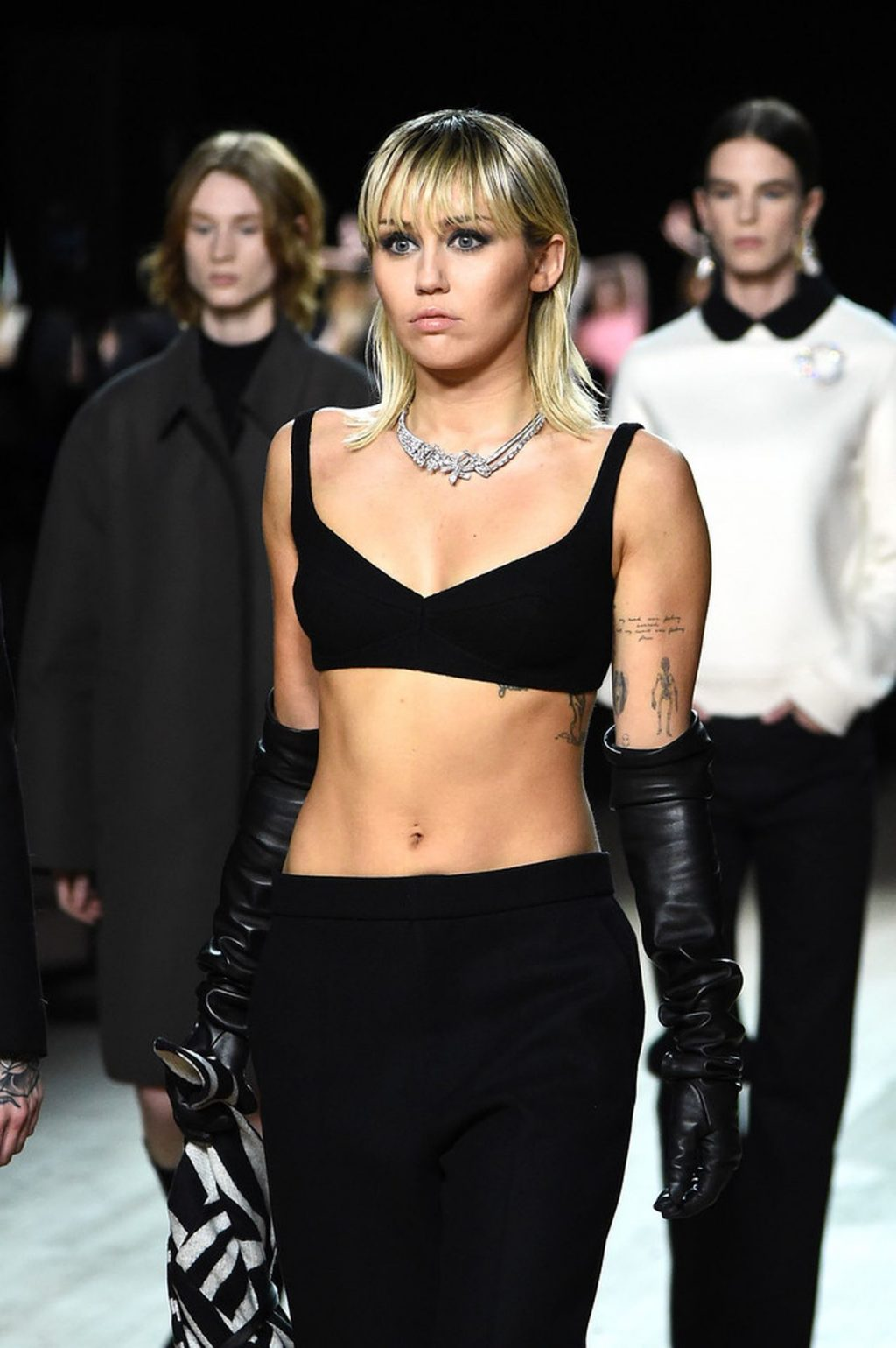 Miley Cyrus Sexy The Fappening Blog 7 4 1024x1540 - Miley Cyrus Walks the Runway at the Marc Jacobs Show (22 Photos + GIF & Video)