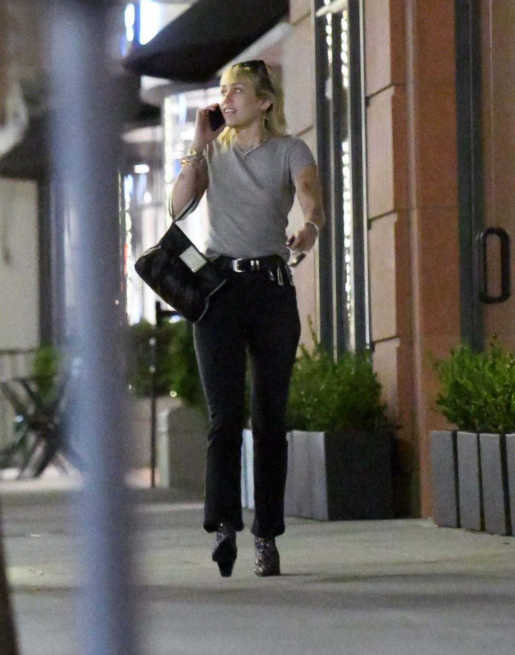 Miley Cyrus Steps Out Solo in Los Angeles After Finalizing Her Divorce (28 Photos)