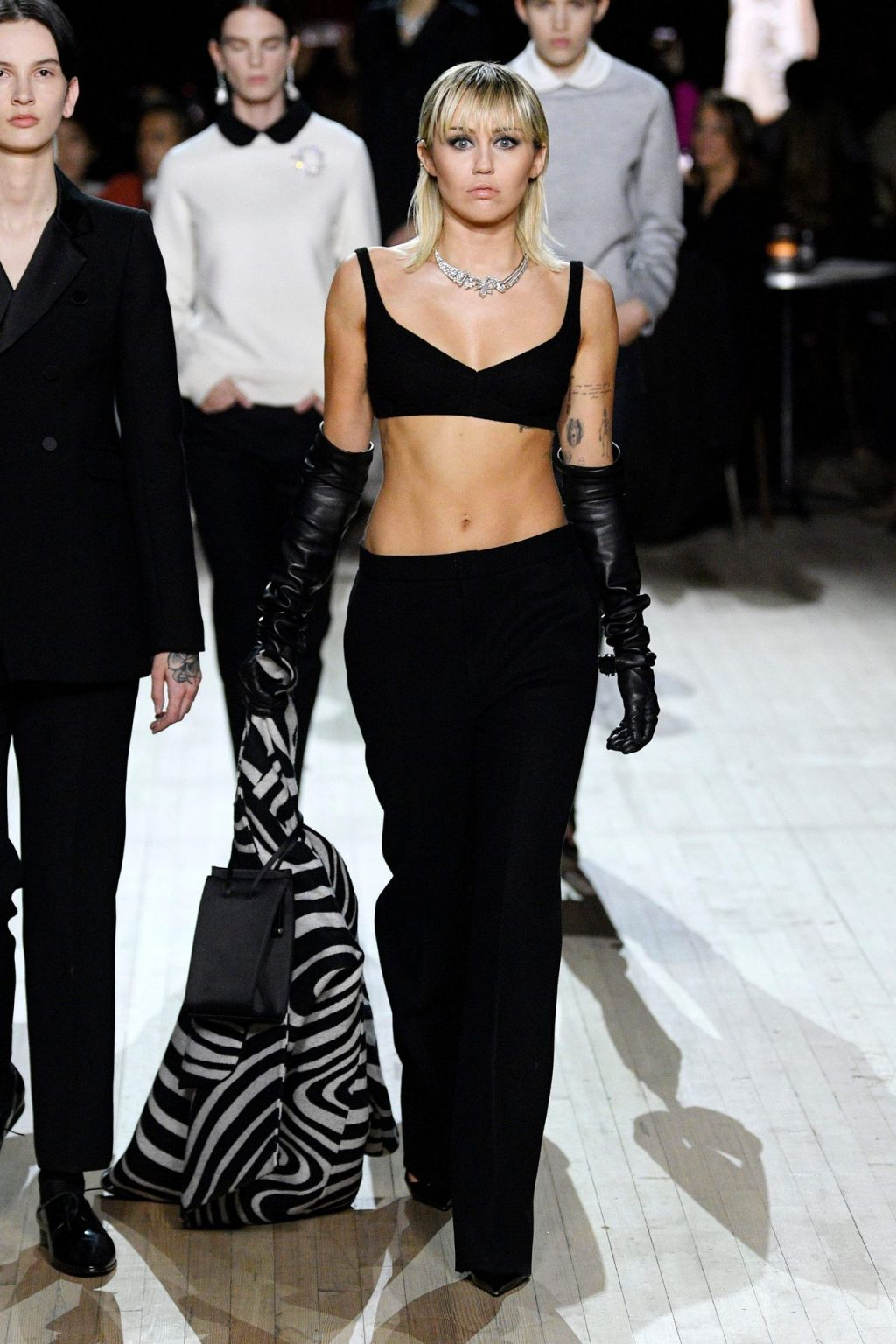 Miley Cyrus Sexy The Fappening Blog 8 4 1024x1536 - Miley Cyrus Walks the Runway at the Marc Jacobs Show (22 Photos + GIF & Video)