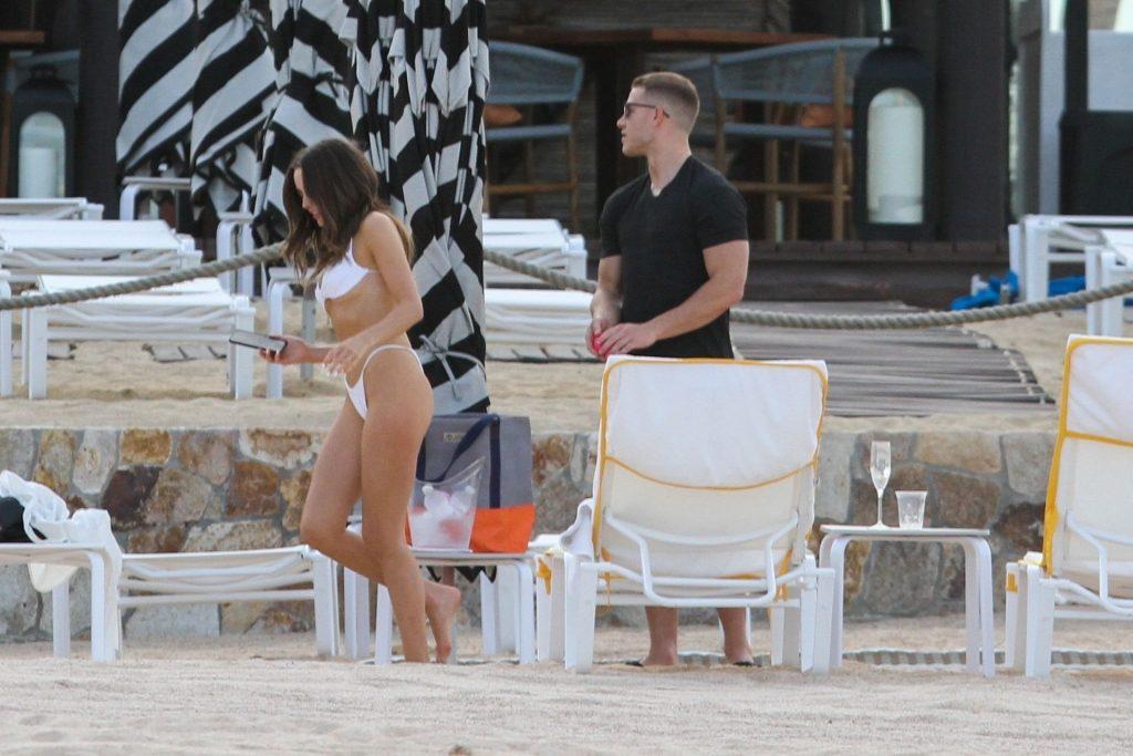 Olivia Culpo Shows Off her Figure in a White Bikini (20 Photos)