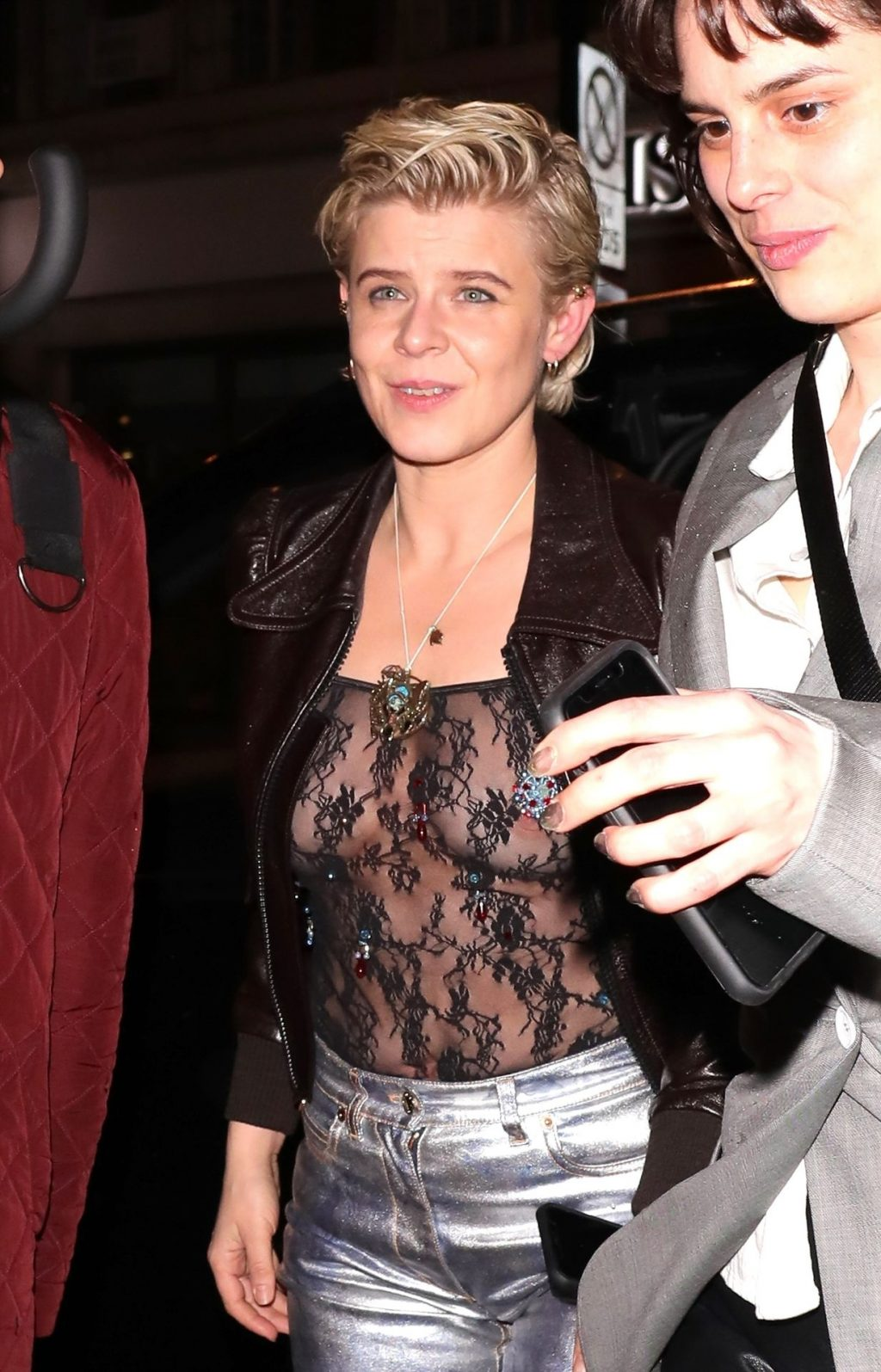 Robyn Nude See Through The Fappening Blog 14 1024x1595 - Robyn Makes Busty Appearance with a Friend Arrive at the NME Awards (14 Photos)