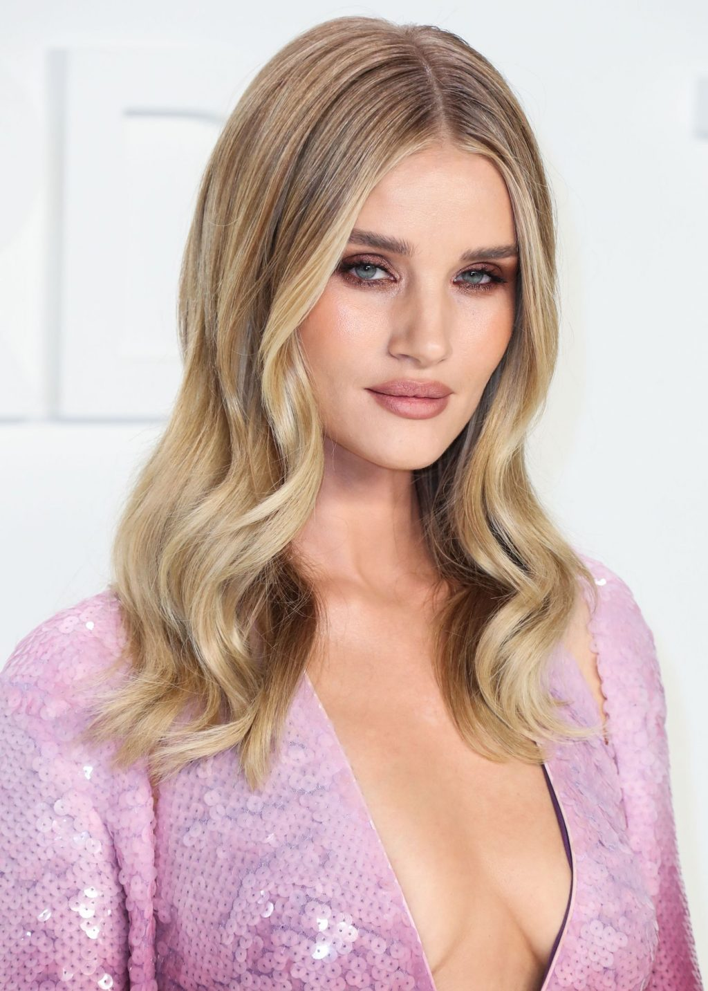 Rosie Huntington Whiteley Sexy The Fappening Blog 110 1024x1433 - Rosie Huntington-Whiteley Shows Her Cleavage at the Tom Ford Fashion Show (115 Photos)