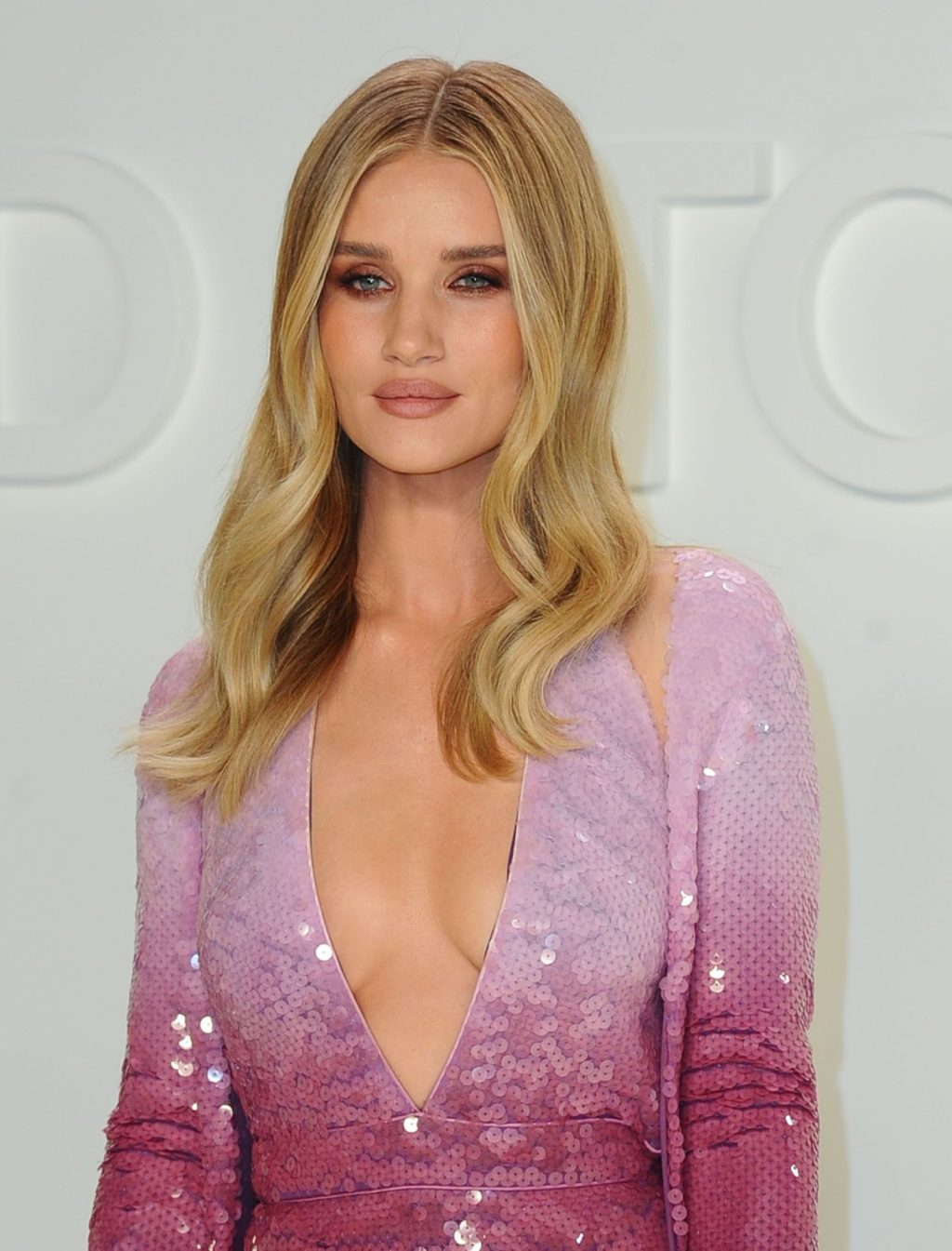 Rosie Huntington Whiteley Sexy The Fappening Blog 15 1024x1345 - Rosie Huntington-Whiteley Shows Her Cleavage at the Tom Ford Fashion Show (115 Photos)
