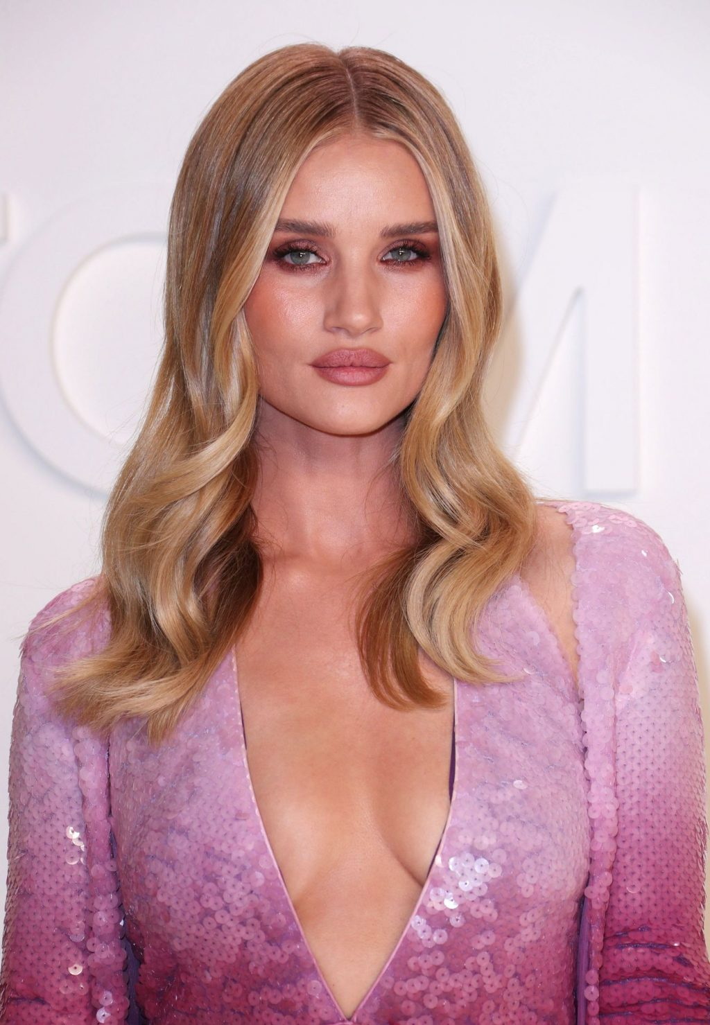 Rosie Huntington Whiteley Sexy The Fappening Blog 35 1024x1479 - Rosie Huntington-Whiteley Shows Her Cleavage at the Tom Ford Fashion Show (115 Photos)