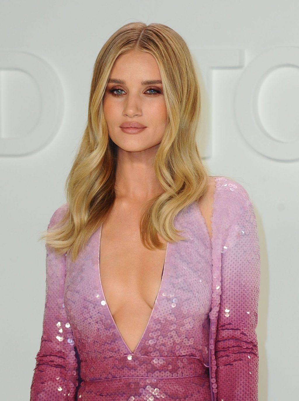 Rosie Huntington Whiteley Sexy The Fappening Blog 4 1024x1373 - Rosie Huntington-Whiteley Shows Her Cleavage at the Tom Ford Fashion Show (115 Photos)